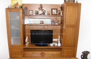 Масивни Троянски мебели спазили сме точните изисквания на клиента за цвят,материал и разпределение
