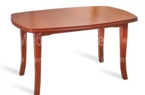 Разгъваема маса за трапезария или кухня, изработена от бук. В разгънато състояние достига до 2000мм.