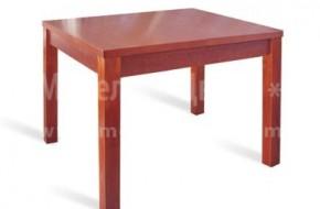 Квадратна букова маса, подходяща както за трапезария, така и за кухня. Изработва се в различни цветове, а дължината и в разгънато състояние достига до 2000мм.