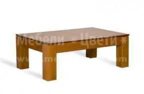 Ниска разгъваема маса, подходяща както за трапезария, така и за всекидневна. Изработва се от буков масив в различни размери.