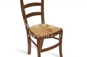 Материалът е бук, цвят и дамаска - по избор. Изключително здрав и лек стол.