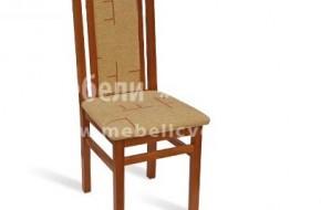 Буков стол с тапициран гръб.