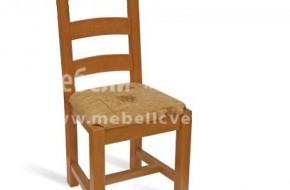 Буковите столове са опаковани в кашони по 2 бр. в пакет.