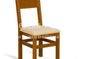 Буков масивен стол, подходящ и за заведения.