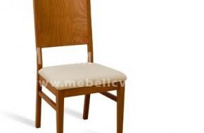 Кухненски масивен стол от Троян.