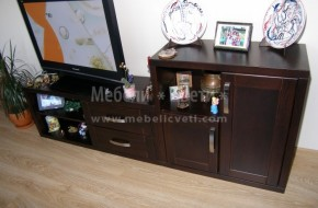 Мебелите са проектирани при вече направена ел.инсталация и изводи за кабелна телевизия .