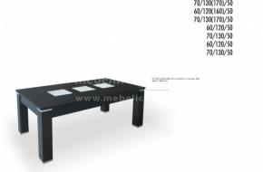 При тази маса има възможност за добавяне на метален обков във всички ъгли