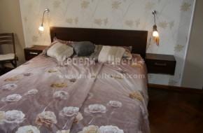 По желание на клиента е изработена спалня с по-голяма височина ,за да се събира повече багаж