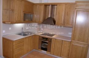 Троянски масивни мебели за обзавеждане на кухня по поръчка.Троянски мебели цена 4600 лева от ясен