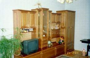 Троянска масивна мебел от бук за дневна.Мебелите са в ретро стил със механизми и обков на фирма Грас .