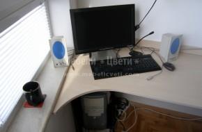 Детско-юношеска стая с библиотека и компютърно бюро