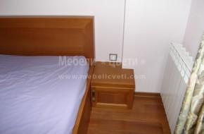 Масивни мебели за детска стая,вратичките са от дърво с ъглови сглобки